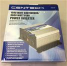 CEN-TECH 61628 1500W CONTINUOUS/3000W PEAK POWER INVERTER
